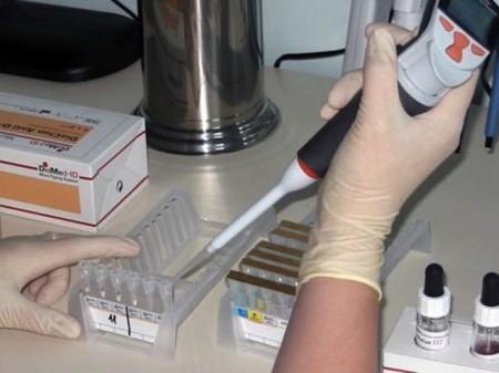 Проведение анализа в лабораторных условиях