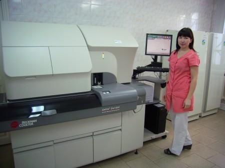 Хемилюминесцентный анализатор UniCell DxI