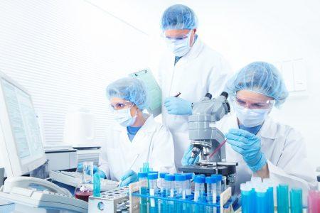 Первоначально проводится анализ плазмы крови