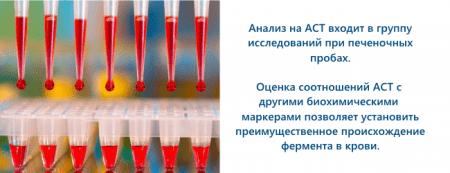 Анализ на аст - одна из печеночных проб