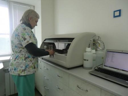 Исследование крови в лаборатории