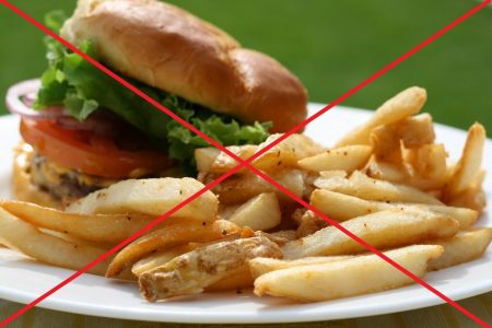 До анализа необходимо исключить жирные, острые и жареные блюда