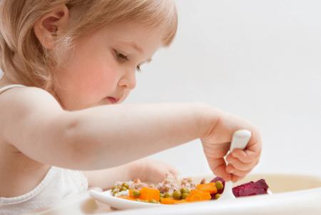 Ребенок в период интенсивного роста