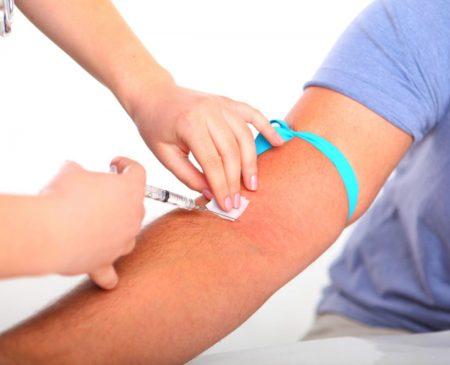 Анализ можно сделать во время забора крови для измерения общих показателей