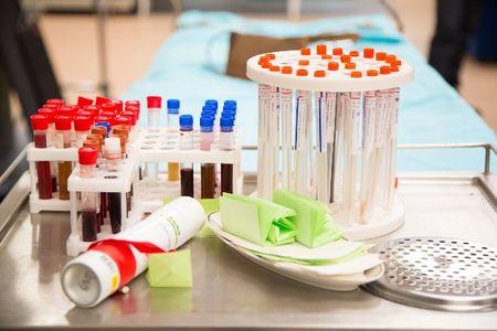 Медицинские лабораторные пробирки