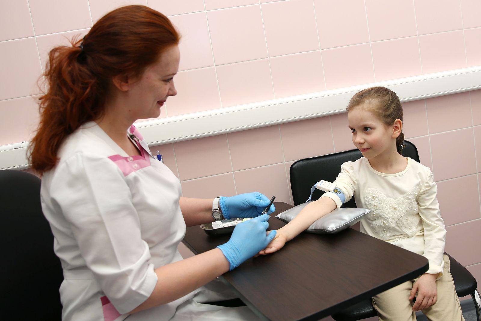 О чем расскажет биохимический анализ крови у детей