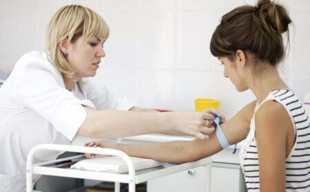 Для анализа требуется венозная кровь