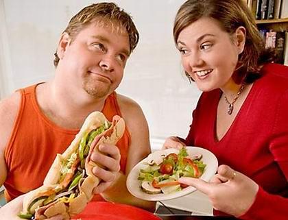 Одна из причин повышения холестерина - ожирение