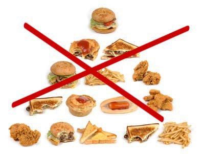 Запрещенные продукты питания при повышенном холестерине