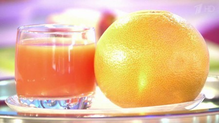 Грейфрут и его сок хорошо понижают холестерин